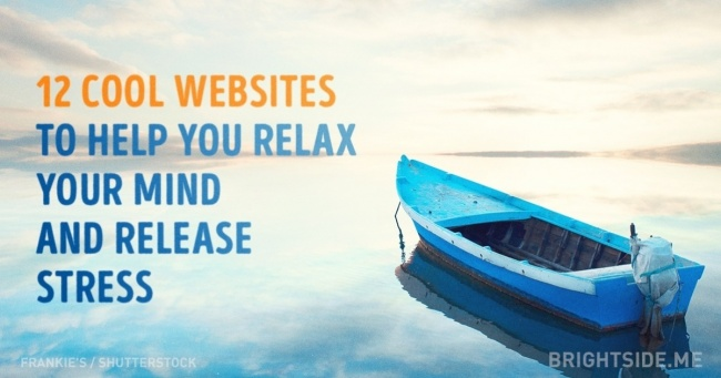 12 cool websites to help you relax your mind and release stress