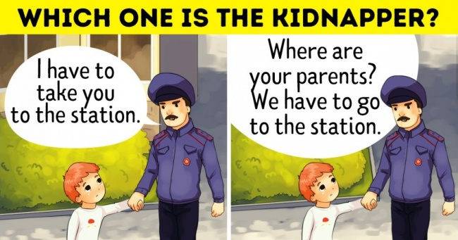 12 Signs That Can Help You Recognize a Child Kidnapper