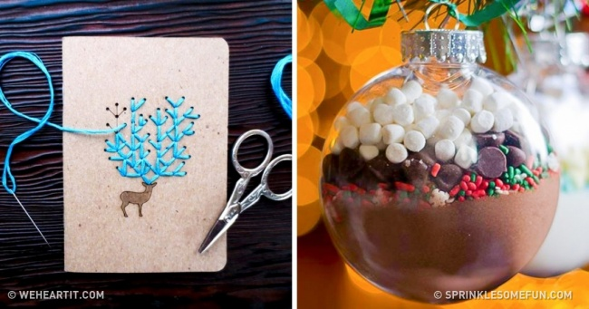 15 Creative Handmade Christmas Presents You Will Want to Keep
