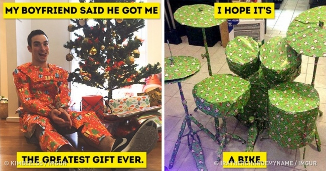 20 Hilarious Trolls Who Remained True to Themselves When Giving Presents