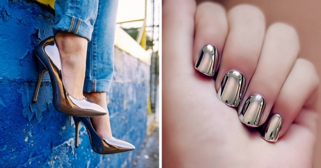 7 ways to add metallic colors to your outfit and look absolutely fabulous