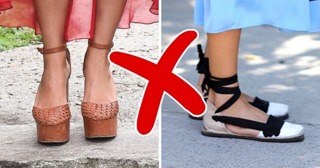 8 Pairs of Summer Footwear That Harm Your Legs