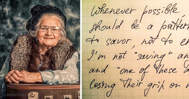 An  83-Year-Old Lady   s Letter to  Her Friend Is  Full of  Life Lessons That We  Can All Benefit From