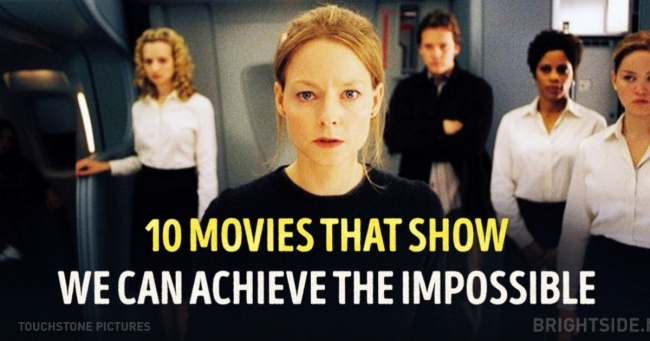 Ten movies that show humans can do the impossible