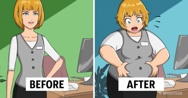 These 10 Jobs Make You Gain Weight